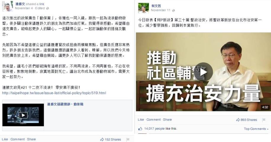 Facebook與Youtube 影片比較